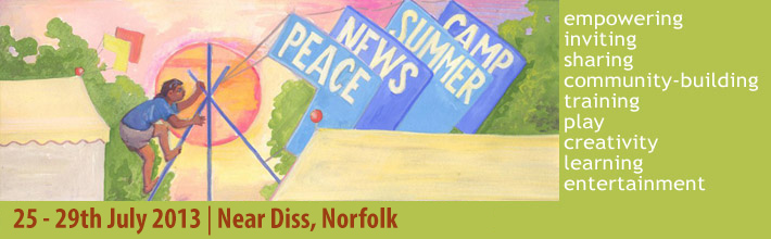 Peace News Summer Camp logo