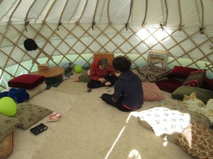 2u inside the teen hang-out space, very comfy